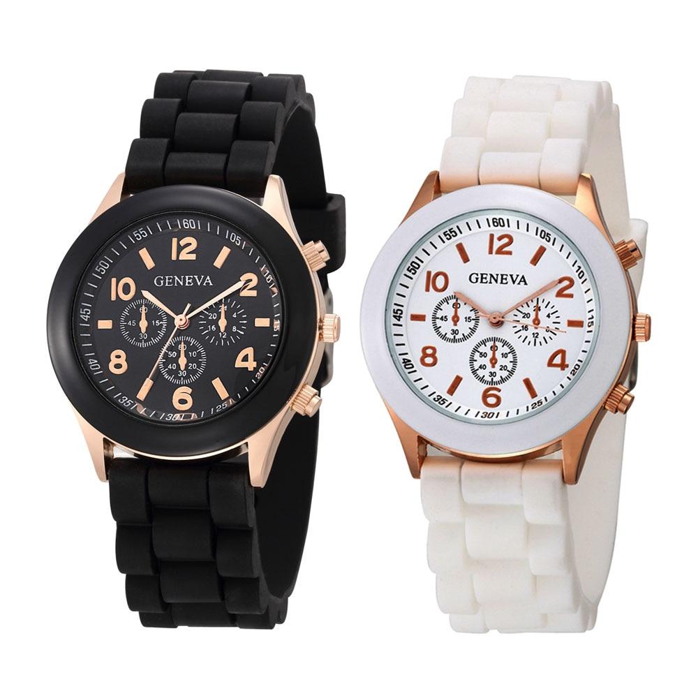 2020 новые часы женские роскошные брендовые модные повседневные кварцевые наручные часы силиконовые женские часы с ремешком Relogio Feminino