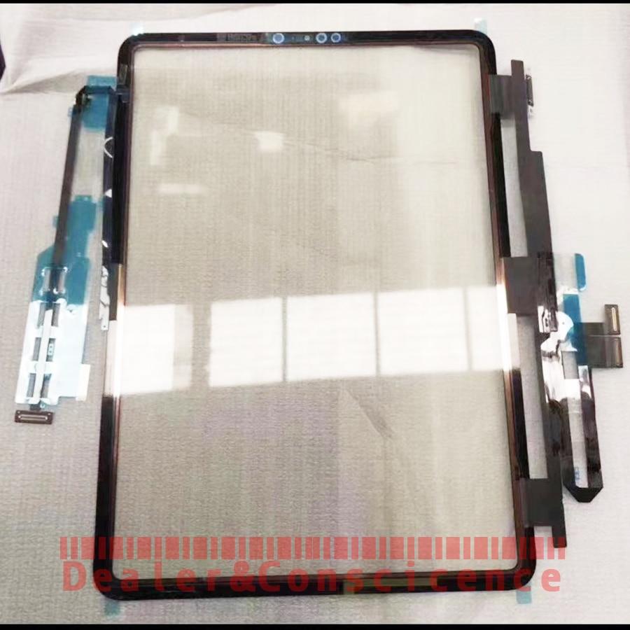 """1 Uds (probados) digitalizador de Panel de pantalla táctil para iPad de Apple Pro 11 A2013 A1980 A1934 A1979 11 """"de vidrio frontal de reemplazo del Panel de la lente"""