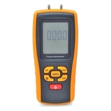 Цифровой манометр, измеритель давления воздуха, диапазон измерения 35 кПа, ЖК-дисплей, манометр, Макс 150 кПа, USB интерфейс ATC