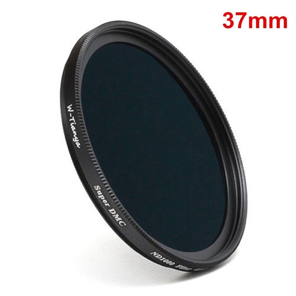 37mm ND1000 ultra-mince densité neutre ND 37mm filtre 10 arrêt pour appareil photo canon nikon sony