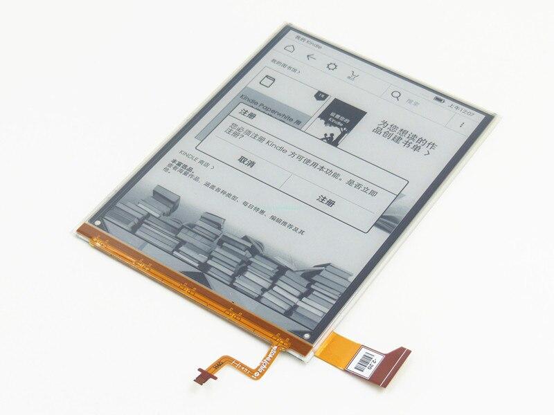 ЖК-экран панель E-Ink ED060KG1 (LF) C1-68 для Kobo Glo HD 2015 BQ Cervantes 3 FNAC Touch Light 2 Tolino Shine 2 eReader