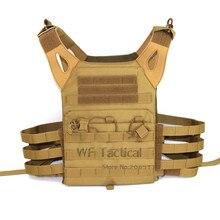 Тактический охотничий JPC несущая пластина Молл жилет тело Armo Журнал Грудь Rig защитный страйкбол Открытый Wargame Пейнтбол жилет