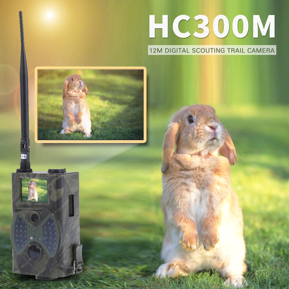 Suntek cámaras de rastreo térmicas infrarrojas HC300A HC300M videojuego caza foto de cámara trap wild cámara con 36 Uds LED negro chasse