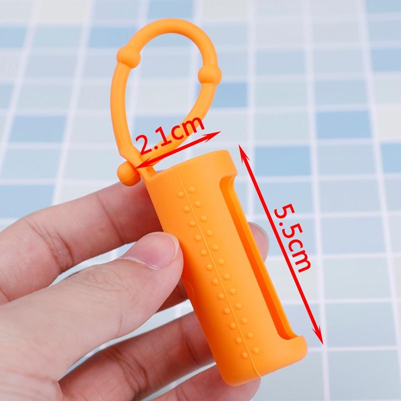 New 10ML Essential Oil Bottle Protector small fresh Silicone Essential Oil storage Case 6 Colors Mini bottle Anti-fall box