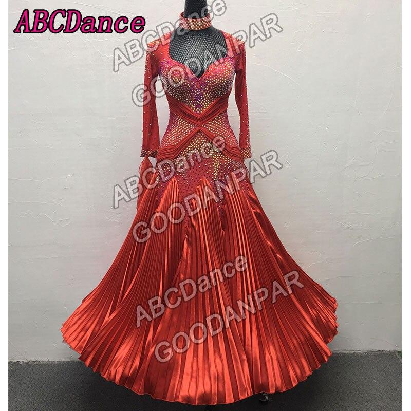 جديد المنافسة قاعة قياسي فستان رقص ، الحديثة الفالس تانجو فستان رقص ، الكبار النساء المهنية أزياء رقص