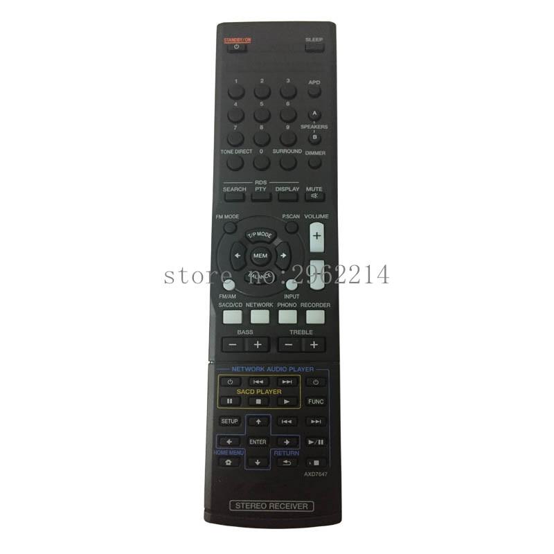Nuevo control remoto Original AXD7647 para RECEPTOR ESTÉREO PIONEER SX-20/S/K