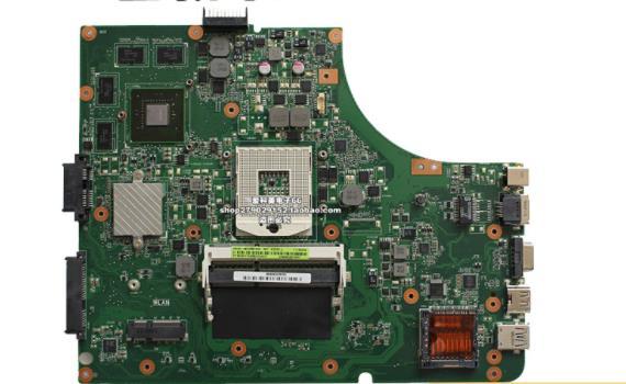Placa base de ordenador portátil K54LY USB 3,0 1GB HM65 HD6470M para ASUS K54LY X54HR K54HR X54H placa base de prueba K54LY placa base 100% prueba ok