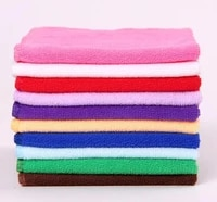 wholesale 10 pclot microfiber towel gift towel cleaning wipe small square towel 2525 towel