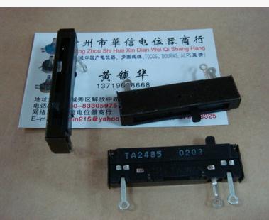5cm de largo recto diapositiva potenciómetro interruptor regulador intensidad 5K