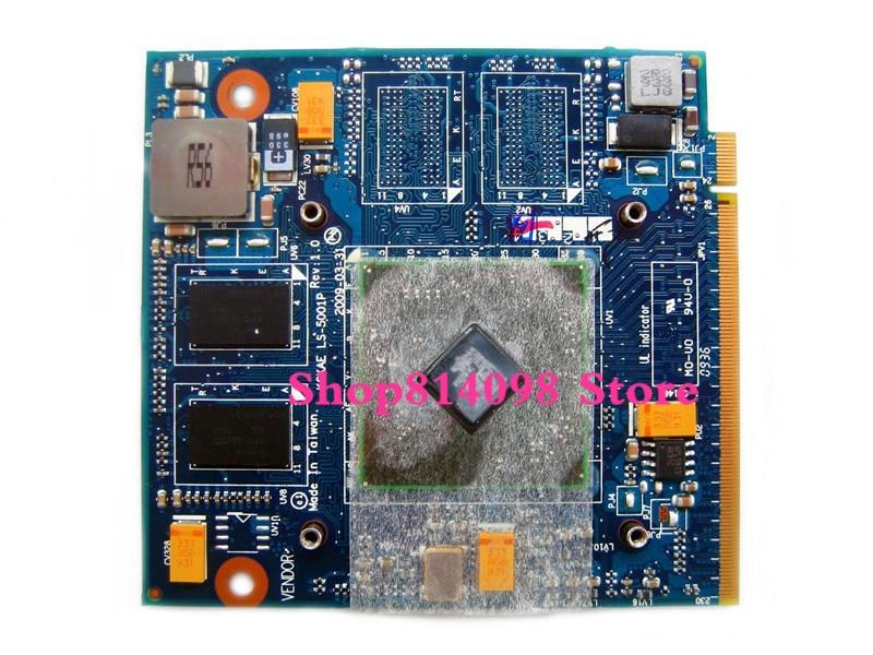La tarjeta gráfica para Toshiba L500 L505 A500 A505 HD4570 512MB K000078110 MXM LS-5001P