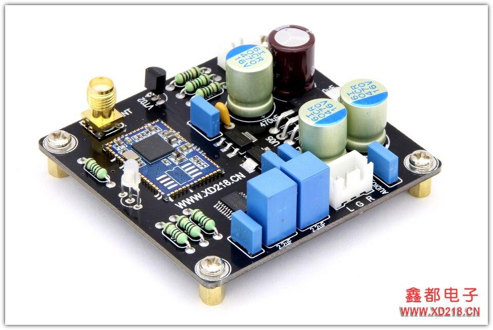 Receptor Bluetooth CSR8675 + Módulo Decodificador PCM5102A DAC