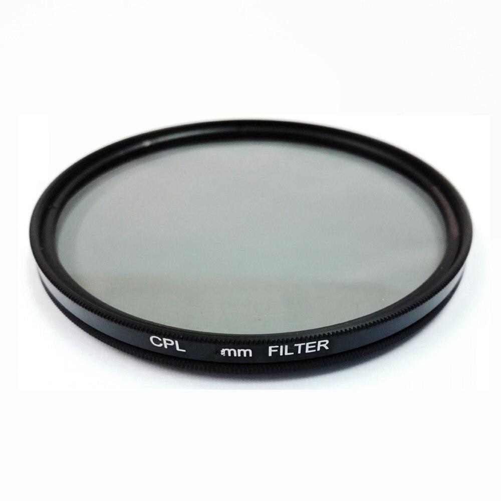 Filtro Polarizador Circular CPL para lentes de cámara Canon Nikon Sony 25/37/40. 5/43/46/49/52/55/58/62/67/72/77/82mm
