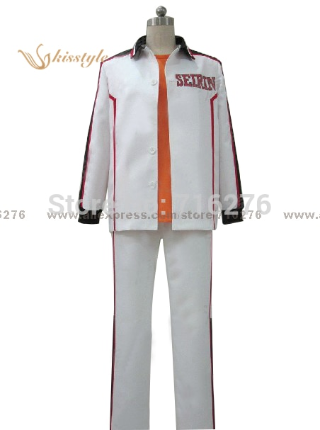 Kisstyle Mode Kuroko kein Basuke SEIRIN Kleidung Uniform Cosplay Kostüm Nach Maß