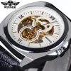 זוכה אוטומטי מכאני שעונים גברים עסקים עמיד למים זכר שעון יד כיכר שעון Relogio Masculino מתנות Automatico