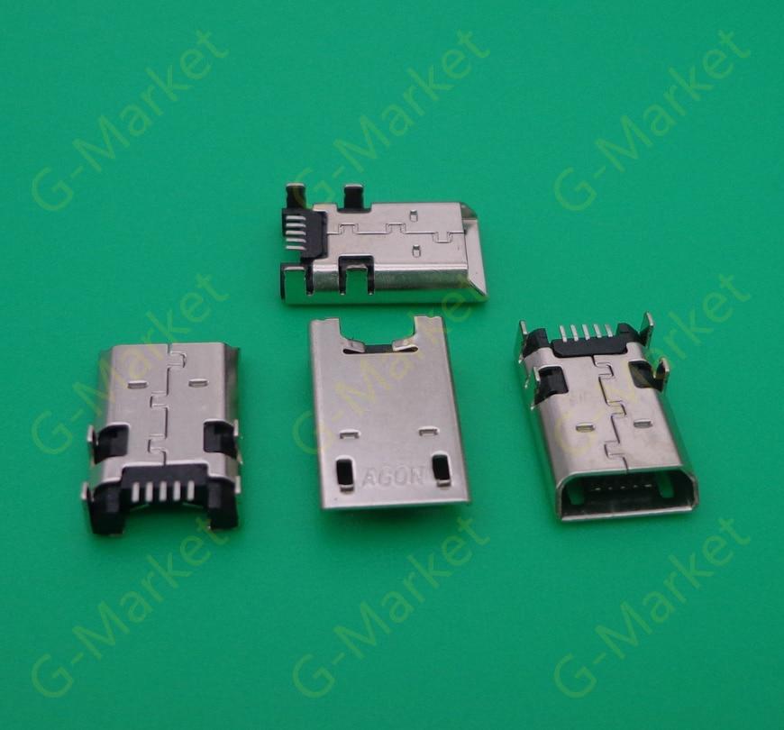 5 шт./лот для Acer Iconia Tab 8 A1-840FHD Micro USB разъем для зарядки DC