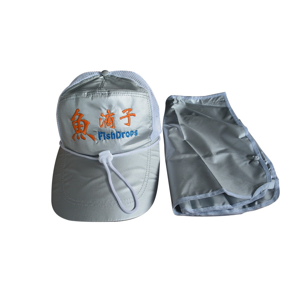 Outdoor Sport Hiking Visor Hat UV Protection Face Neck Cover Fishing Sun Protect Cap enlarge