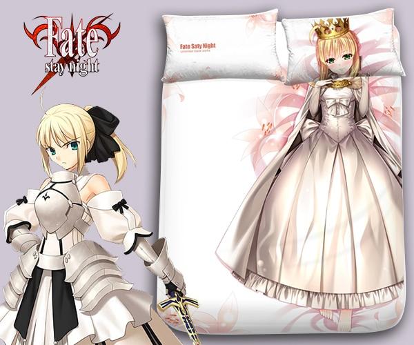 Hobby Express destino Saber noche japonés Anime cama manta o edredón