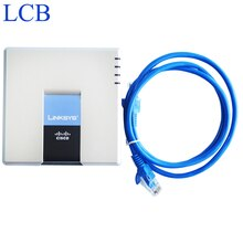 Entsperrt Linksys VoIP IP Telefon Adapter SPA2102 SIP Router Telefon Server 1 WAN 1 LAN 2 FXS Port IP service system Gerät