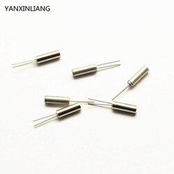 10 pcs 38 KHz 38 KHZ 3*8 cilíndrico Passiva cristal oscilador de Quartzo
