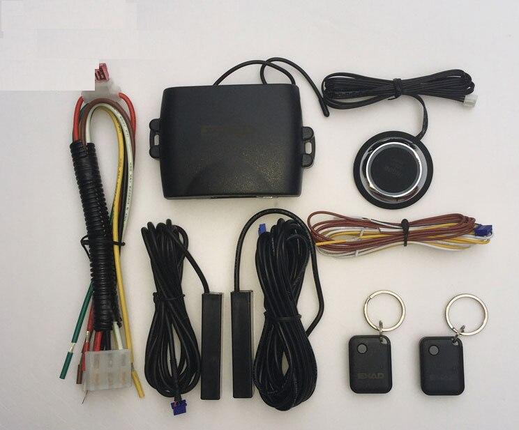 Sistema de alarma de coche PKE sin llave, función remota de entrada automática, motor de coche, control remoto, bloqueo Central, botón de parada de arranque para lexus