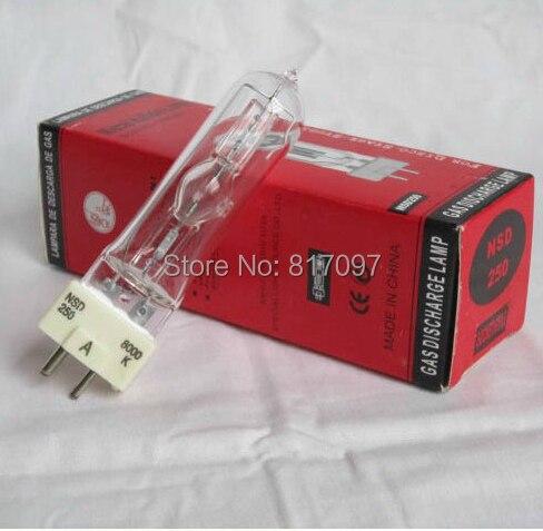 NSD 250W cabeza móvil lampara de audio sonido accesorios iluminacion luces eventos...