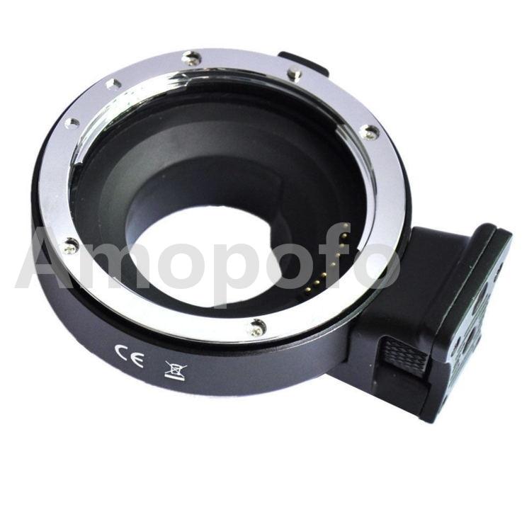 Amopofo una apertura Control adaptador de montaje para lentes para EF/lente para M4 EF-S/3, Panasonic y para Olympus Cámara