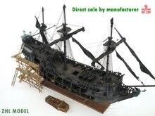 ZHL Top Niveau van de Black Pearl model houten schip (alle-scenario versie Engels gedetailleerde handleidingen)