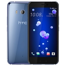 "HTC U11 64 GB ROM 4 GB RAM Dual Sim Originele Ontgrendeld LTE Android 5.5 ""12MP & 16MP Octa core Snapdragon 835 NFC Vingerafdruk Type-C"