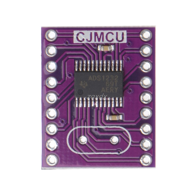 1 Pc CJMCU-1232 ADS1232 24 Bit Low Noise A/D Analog To Converter ADC Drop ship