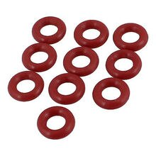 10 Stks 8mm x 2mm Rubber o-ring Olie Seal Afdichtring Pakkingen Rood