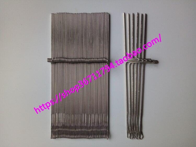 50 Uds para Brother repuestos accesorios para máquina de coser suéter KR850 KR838 KR830 aguja de máquina de coser