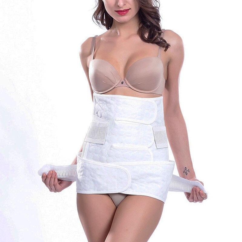 2 pcs /set  Pregnant women white Waist Abdomen belly  Breathable  Slim Body Corset Body Intimates  Belt