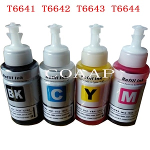 Compatible printer ink for EPSON 664XL T6641 T6642 T6643 T6644 for L100 L120 L101 L110 L111 L200 L201 L210 L211 L220 L222