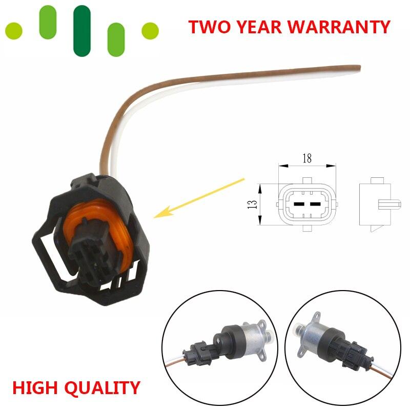 Hot Selling 2-Pin Connector Plug Kit For Fuel High Pressure Pump Regulator Metering Control Valve