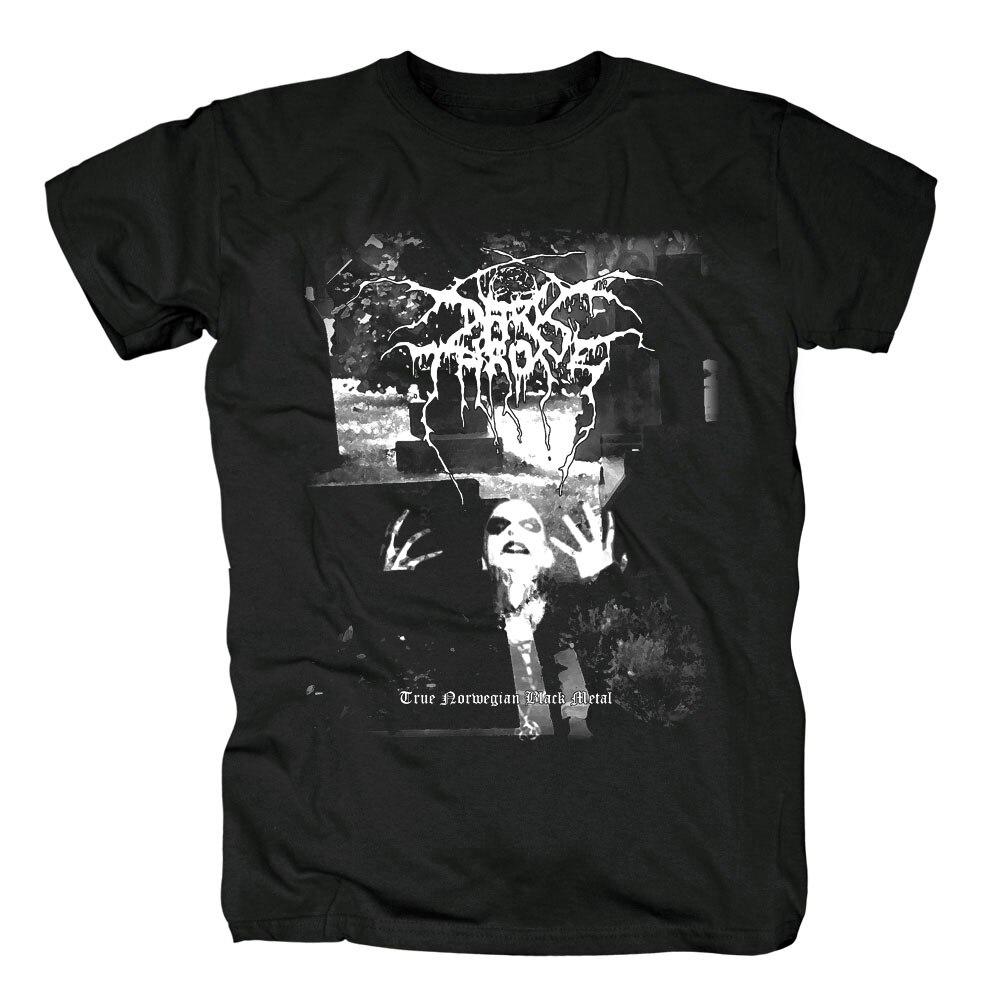 Bloodhoof Darkthrone Black Metal cotton balck T-Shirt NEW : Asian Size
