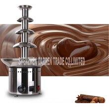 Nouveau 4 niveaux 60cm 304 # acier inoxydable ANT-8060 quatre couches chocolat fontaine machine pour entreprise commerciale et maison utilisé 220V/110