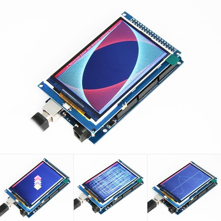 Freies verschiffen! 3,5 inch TFT LCD screen modul Ultra HD 320X480 für Arduino MEGA 2560 R3 Bord