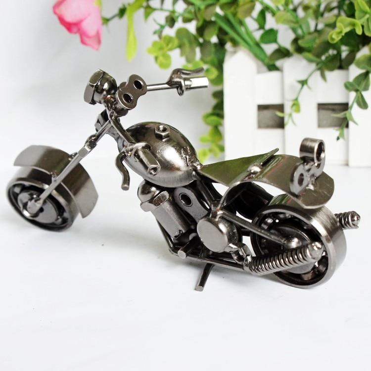 Железные Ретро ручные работы для мотоцикла Harley - Davidson мотоцикла антикварные модели автомобилей магазин украшения интерьера