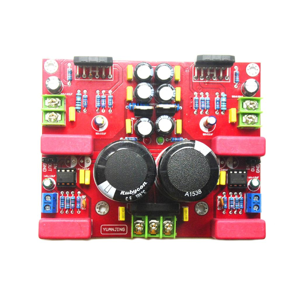 LM3886TF + NE5532 2-канальный аудио Высокая точность HIFI усилитель жар плата в сборе YJ00195