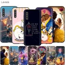 Lavaza Beauté Bête Rose Princesse pour Samsung Galaxy Note 10 Plus A10 A30 A40 A50 A70 M20 A20 A20S A10S A30S A50S