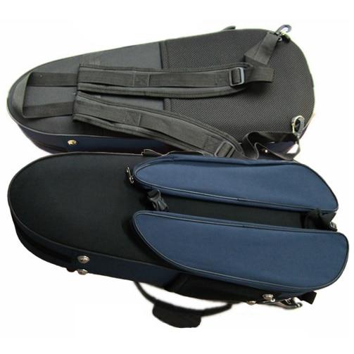 Caja de Violín de nylon 4/4 súper compacta, puede llevar cajas de moscas de violín portátiles, caja de barra de arco de enlaces externos