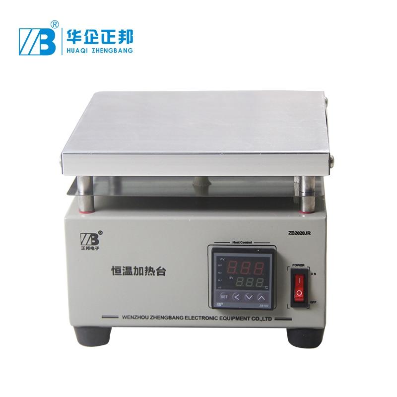 SMT الإلكترونية ثابت التدفئة التحكم ترموستات رقمي 200*200 مللي متر الألومنيوم لوحة PCB التدفئة لوحة