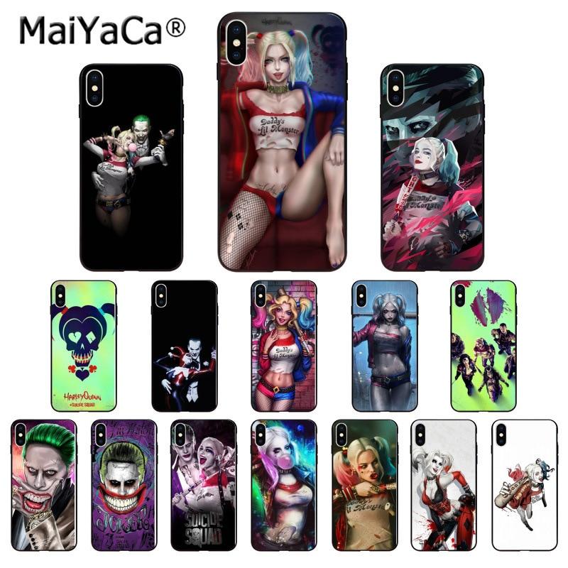 MaiYaCa Harley Quinn отряд самоубийц Джокер Wink Новый чехол для телефона iphone SE 2020 11 pro X XS MAX 66S 7 7plus 8 8Plus 5S XR