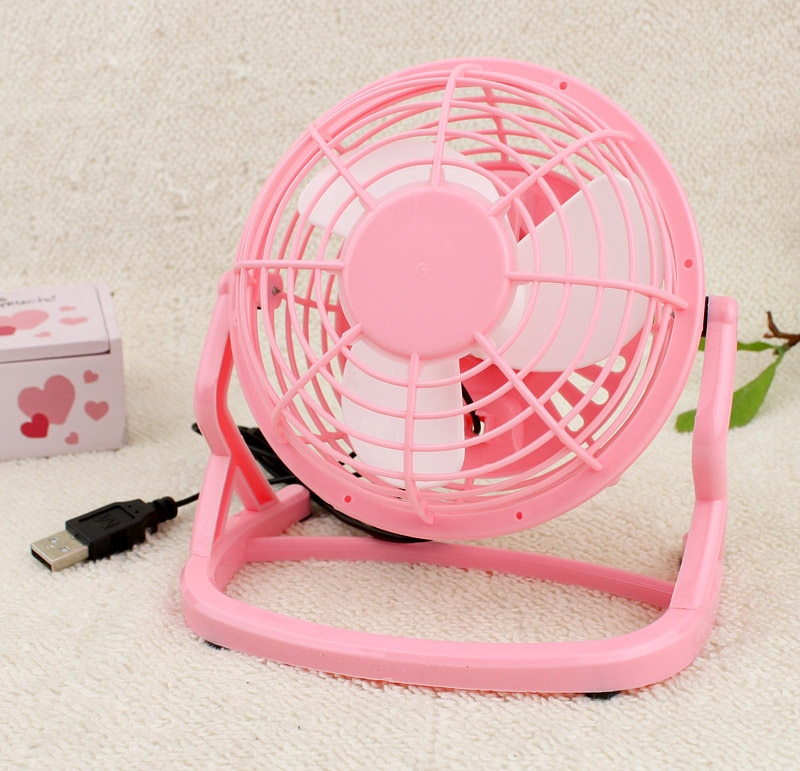 2017 New Arrival Mini Fan USB Powered Notebook Desktop Cooling Fan Cooler For PC Laptop Computer 3 Colors Free Shipping