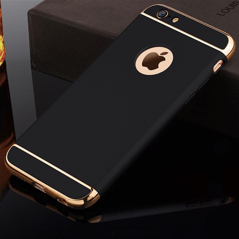 Carcasa protectora RZP de lujo con revestimiento para el iPhone x 10 XR Xs Max para iPhone Xs 5 5S SE 6 6s 7 8 Plus