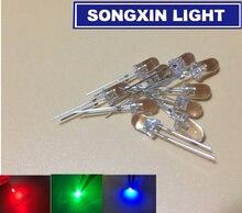 1000 sztuk diody LED RGB szybki wolny błysk Blink 3mm 5mm 8mm 10mm Diodo dioda emitująca światło Rainbow MultiColor czerwony/zielony/niebieski 2 piny