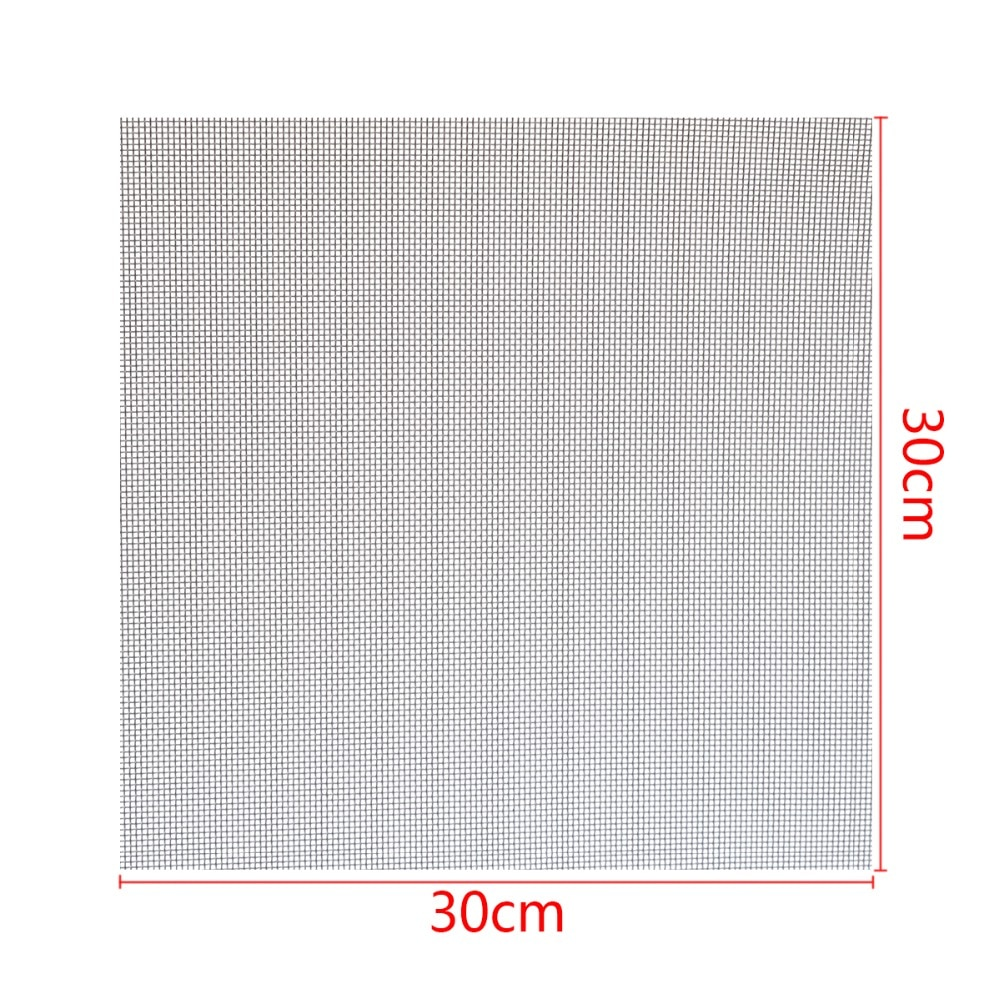 1pc 304 Stainless Steel Woven Wire Mesh Filtration #60 Cloth Screen Filter 30x30cm