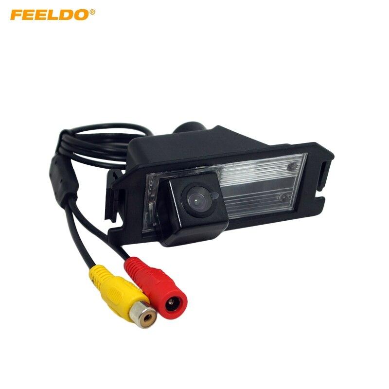 FEELDO 1 PC cámara de visión trasera especial de respaldo para Hyundai Veloster/Genesis Coupe/I30/KIA Soul cámara de estacionamiento # FD4529
