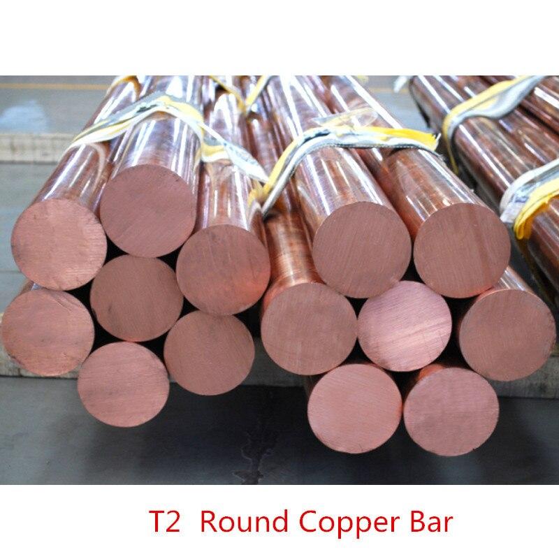 1PCS/lot  YT1354B  Copper Rod  Length 100mm  Diameter 10mm  Copper Stick  Free Shipping  Sell at a Loss T2 Copper Bar  DIY