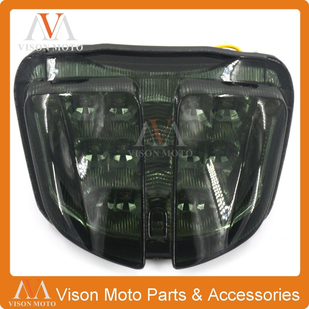 Lâmpada de Cauda Luz de Freio Sinais de Volta Led Integrado Luz Traseira da motocicleta Para SUZUKI GSXR600 GSXR750 GSXR 600 750 K6